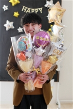 【入園・卒園・入学・卒業】選べるメッセージバルーン花束 全12種類