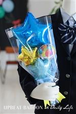 【入園・卒園・入学・卒業】キラキラSTARバルーン花束
