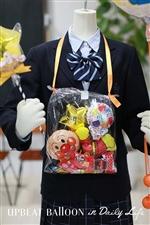 【入園・卒園・入学・卒業】キャラクターバルーンレイ アンパンマン〜バルーンの首飾り〜 おかし付