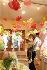 【大型】HAPPY BIRTHDAYシャワー(吊るす)