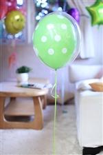 Lime green ドット371
