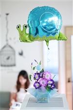 【結婚式 電報】水無月 あさがお