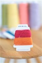 【AVRIL】cottonコード/アップル×オレンジ