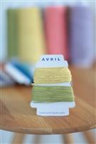 【AVRIL】cottonコード/レモン×キウイ