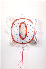 「0」ナンバーキャンドルBLT18