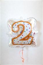 「2」ナンバーキャンドルBLT18