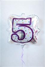 「5」ナンバーキャンドルBLT18