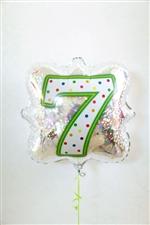 「7」ナンバーキャンドルBLT18