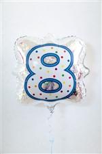 「8」ナンバーキャンドルBLT18