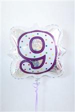 「9」 ナンバーキャンドルBLT18