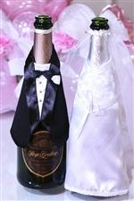 【結婚式 電報】シャンパンボトルウェア