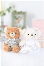 【電報 結婚式】ブラウンベア&ホワイトベア